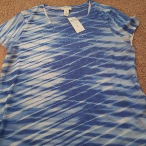 Zenergy shirt by chicos sz 2